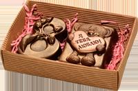 Шоколадные подарки к 8 марта