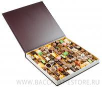 BIG BROWN BOOK набор шоколадных конфет ручной работы Baccarat