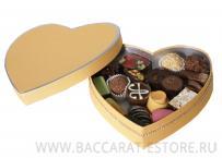 ORANGE HEART Набор шоколадных конфет ручной работы из бельгийского шоколада Baccarat
