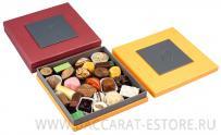 QUATRO RED BEAN - подарочный набор шоколадных конфет ручной работы
