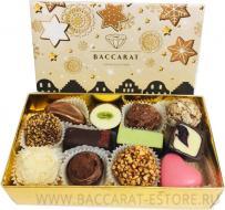 XMAS PARTY - новогодний подарочный шоколадный набор конфет ручной работы Baccarat
