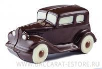 Ретро автомобиль из бельгийского шоколада ручной работы
