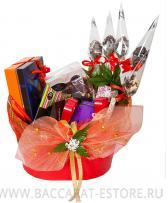 Woman,s Day  BASKET (Большая)- набор шоколадных подарков из бельгийского шоколада