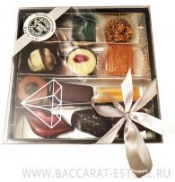 Diamond box - набор шоколадных конфет ручной работы Baccarat из бельгийского шоколада