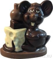 Крысенок с сыром маленький