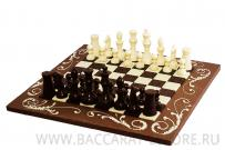 Шахматы полностью из шоколада