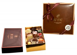 CHOCOLATE ECRIN Подарочный набор из бельгийского шоколада ручной работы