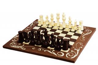 Шахматы из шоколада из шоколада ручной работы