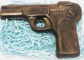 Фигура пистолет шоколадный