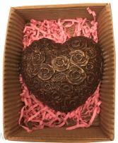 Сердце из шоколада