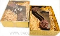 туфелька - барельеф из шоколада