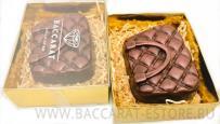 Сумочка женская из шоколада ручной работы - барельеф