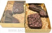 Набор туфелька и сумочка из шоколада ручной работы