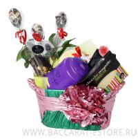 Mettalic Basket Mint