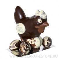 Курица с яцом шоколадные
