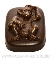 Шимпанзе Барельеф