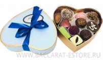 Mint Heart - подарочный шоколадный набор конфет ручной работы