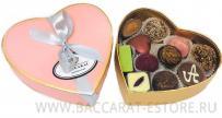 PINK HEART - шоколадный набор конфет ручной работы Бассарат