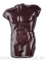 Апполон - мужской торс из бельгийского шоколада ручной работы