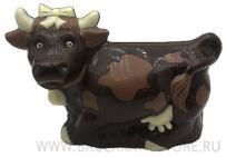 Подарочная шоколадная фигура БУРЕНКА. Из бельгийского шоколада.
