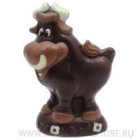 Фигура быка - шоколадный подарок к Новому году!