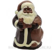 Дед Мороз Большой из бельгийского шоколада ручной работы Baccarat
