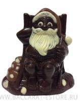 Шоколадный Дед мороз в Кресле  Baccarat