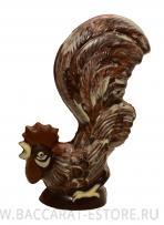 Петух из бельгийского шоколада ручной работы Баккарат